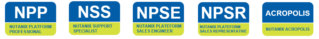 Certifications Nutanix